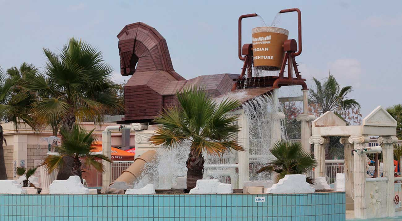 WaterWorld Themed WaterPark
