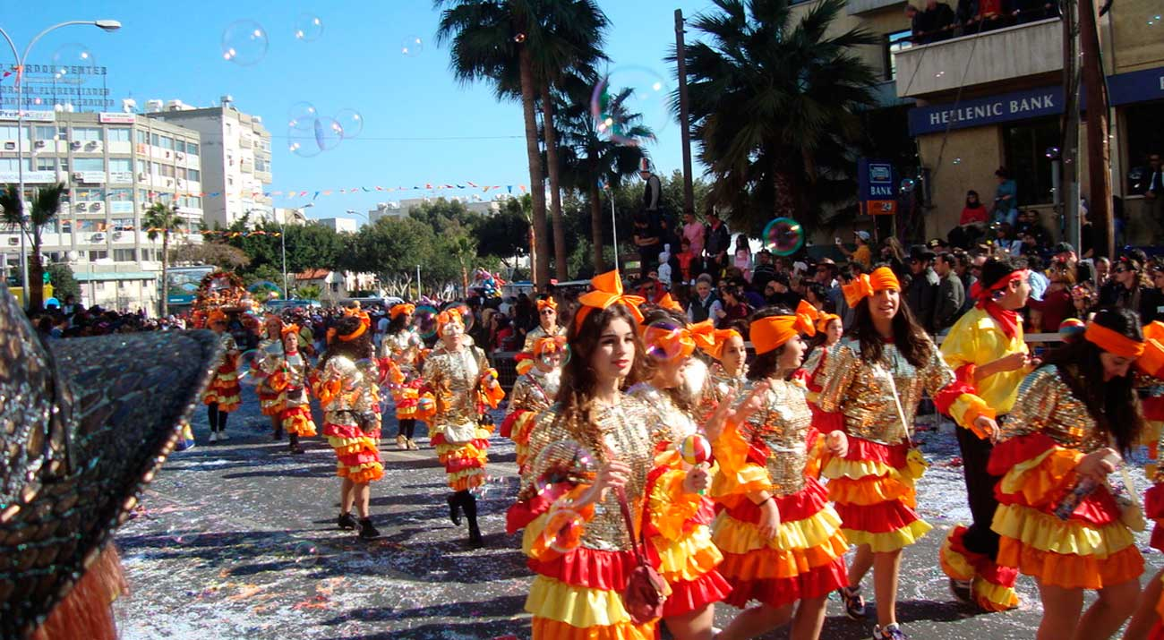 Special events. Famous Carnival time during February and March