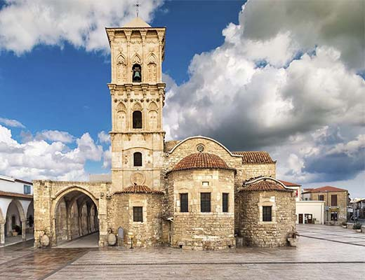کلیسای سنت لازاروس لانارکا (Church of Saint Lazarus Larnaca)