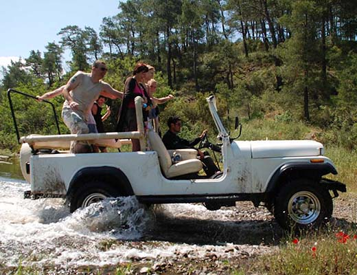 Troodos Jeep Safari